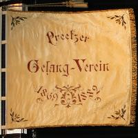 PGV-Fahne beim Konzert am 12.5.2019