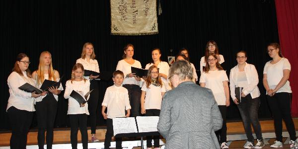 PGV-Kinder- und Jugendchor am 12.5.2019